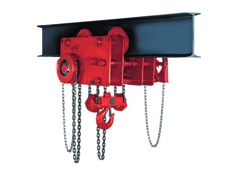 Zephyr Low Head Room Trolley Hoist