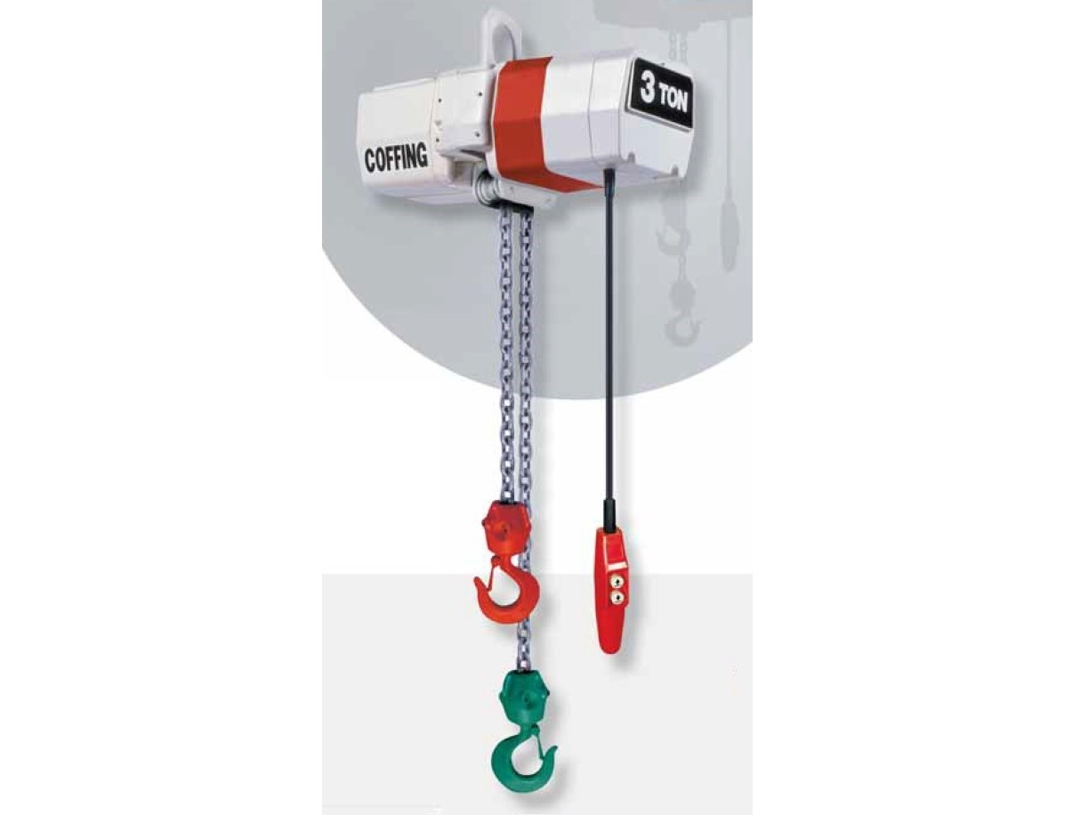 Coffing EC Turnover Model Hoist