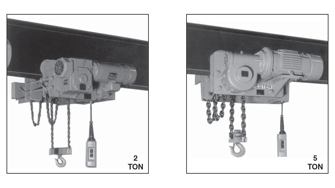 Electric Low Headroom Chain hoists