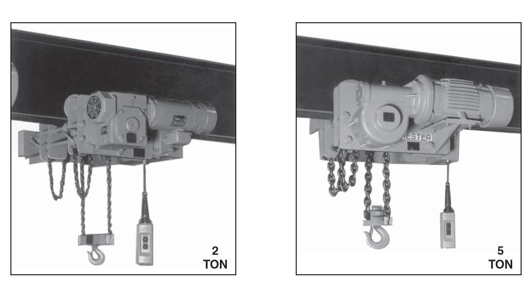 Electric Low Headroom Chain hoists