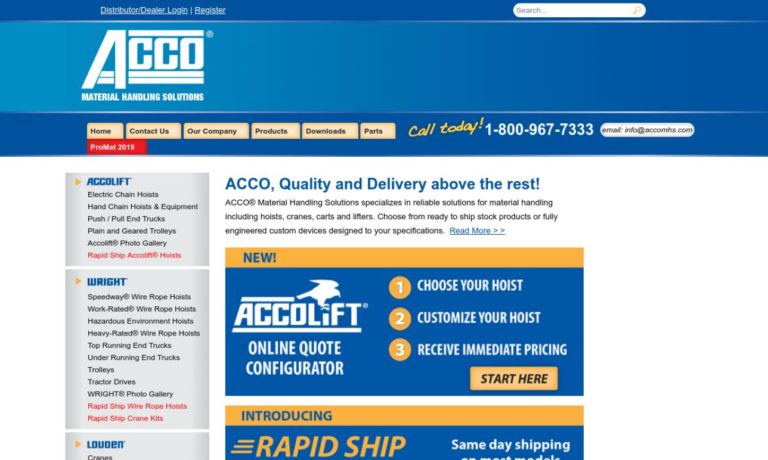 Acco® Material Handling Solutions