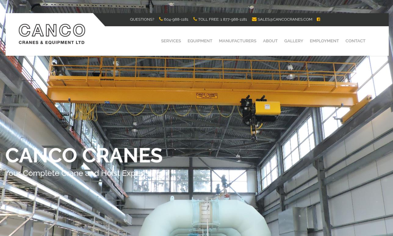 Canco Cranes & Equipment Ltd.
