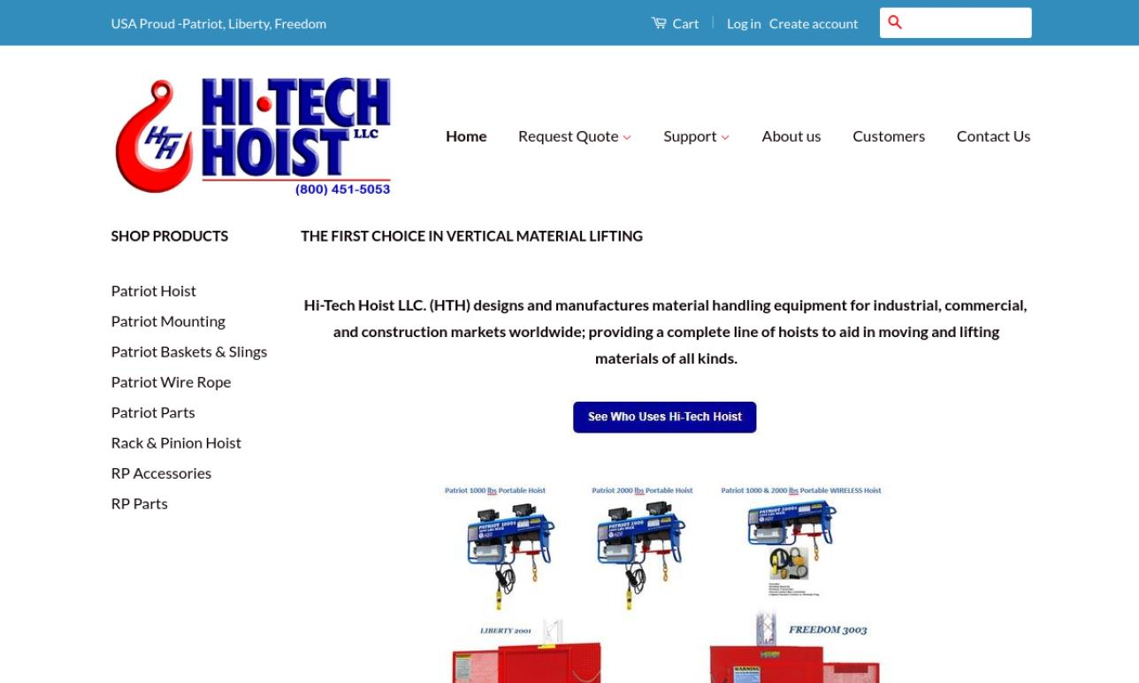 Hi-Tech Hoist Corporation
