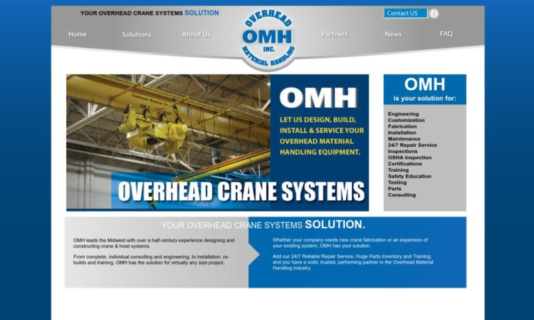 Overhead Material Handling, Inc.