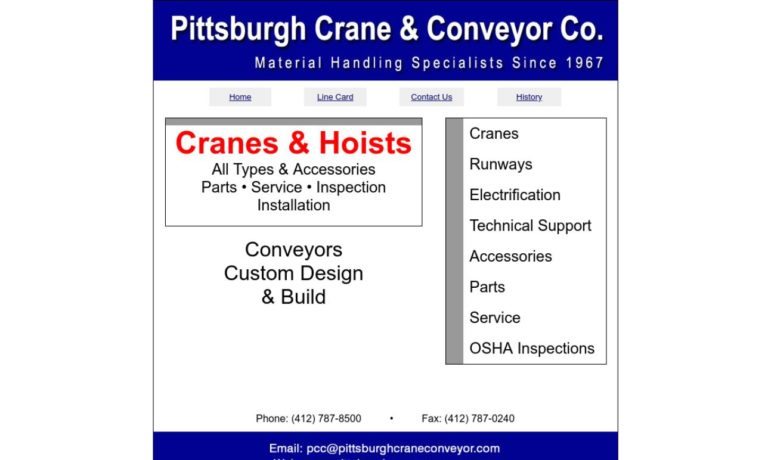 Pittsburgh Crane & Conveyor Co.