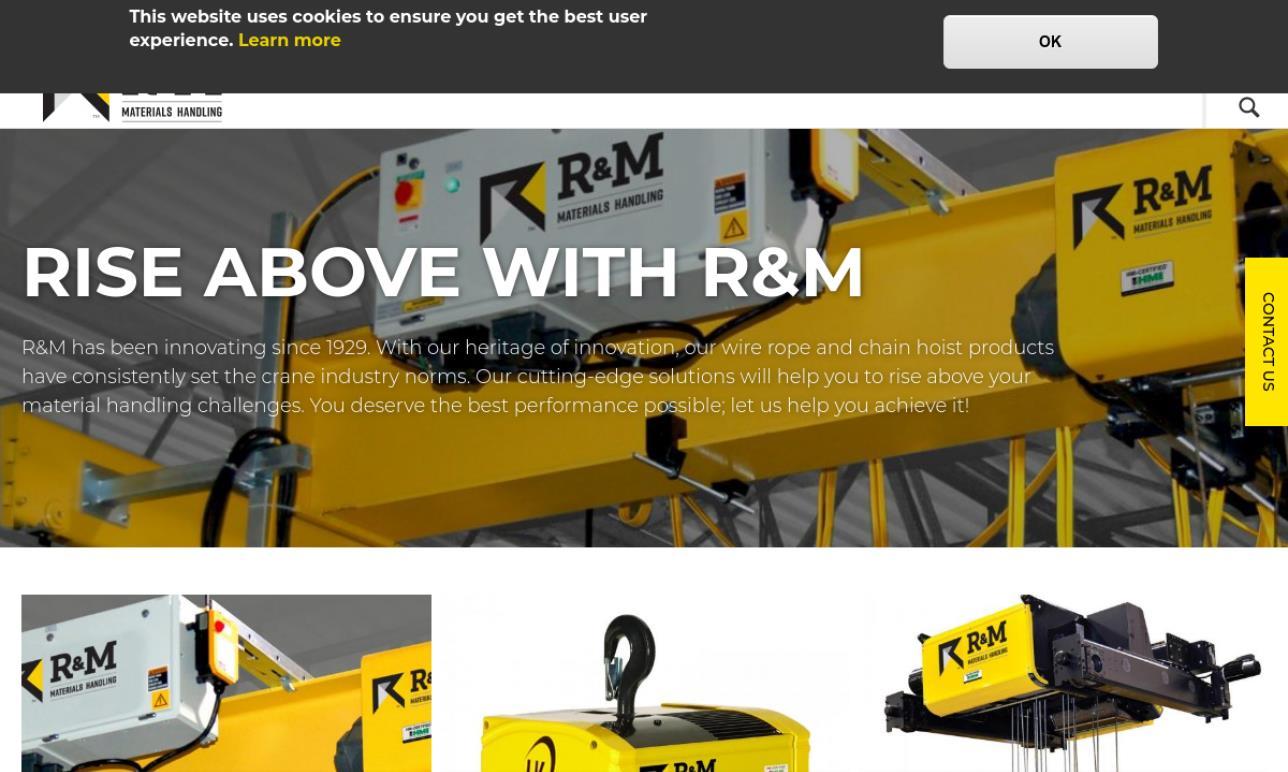 R&M® Materials Handling