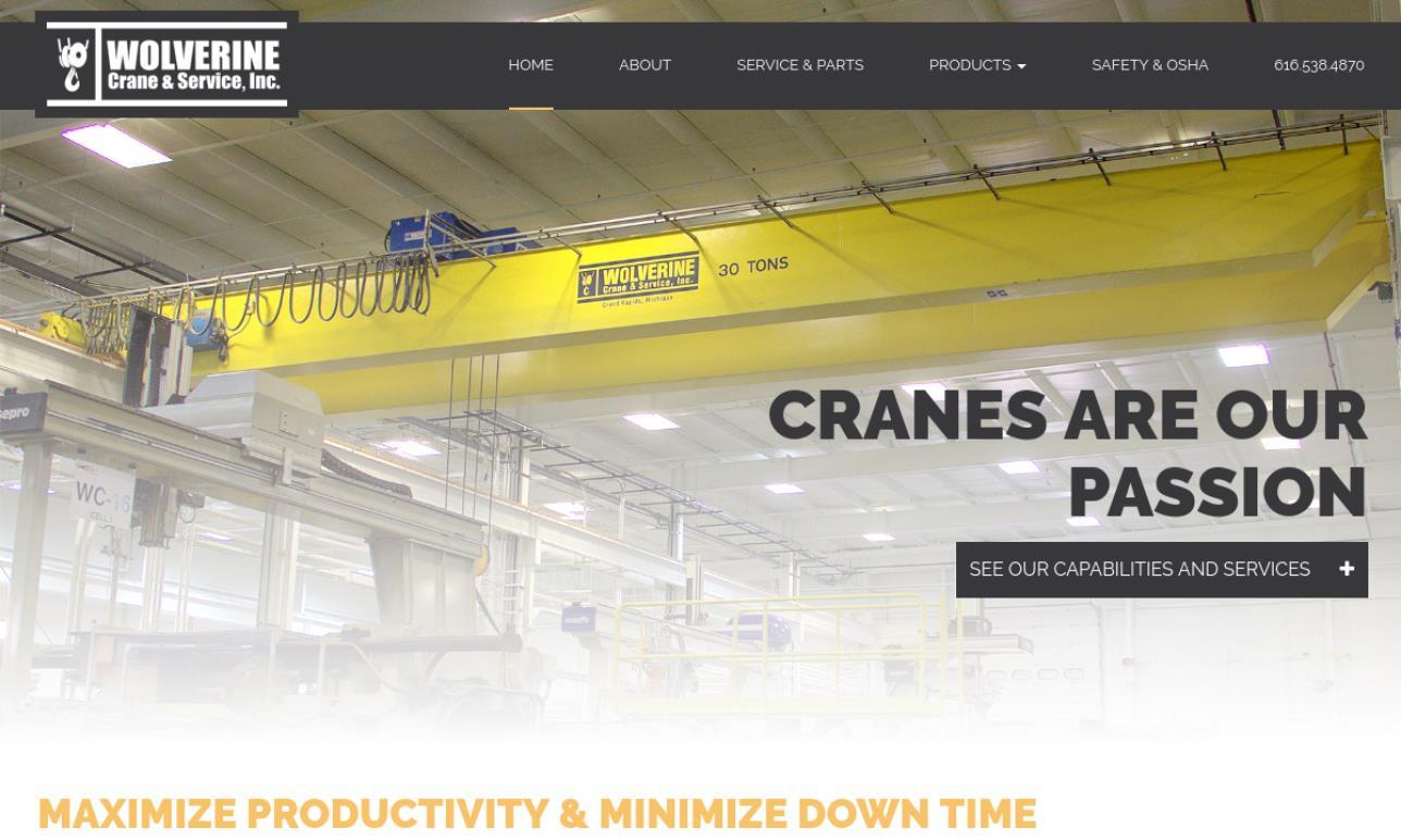 Wolverine Crane & Service, Inc.
