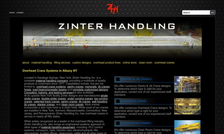 Zinter Handling, Inc.