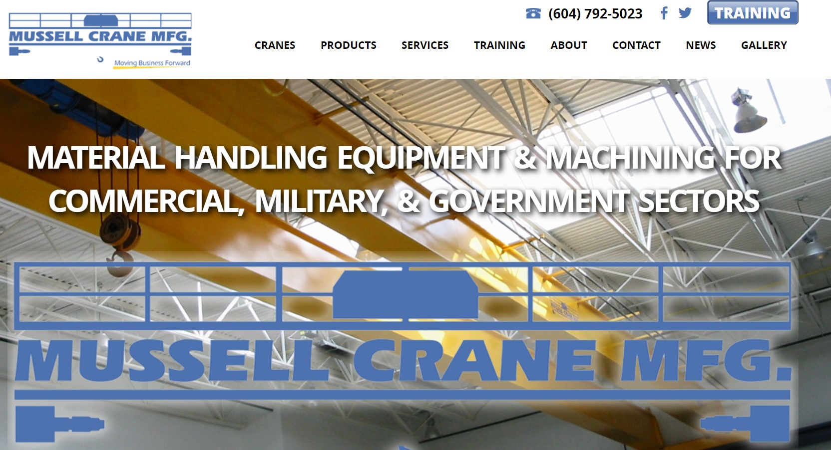 Mussell Crane Manufacturing